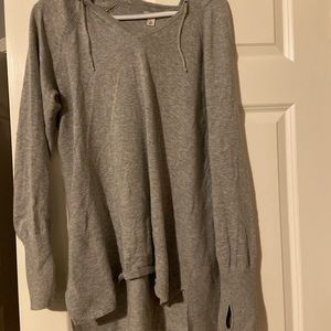 Gray L.L. Bean Sweater